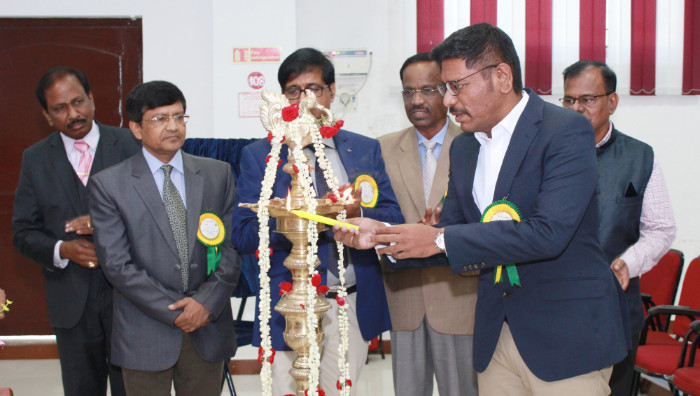CSIR Sponsored International Conference on Advances in Materials Science and Engineering for Societal Applications (ICAMSE - 2018) held at Shri Janakiraman Auditorium, on 02 Mar 2018