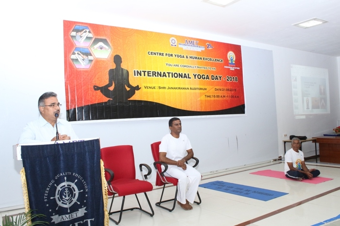 International Day of  Yoga,  on 21 Jun 2018