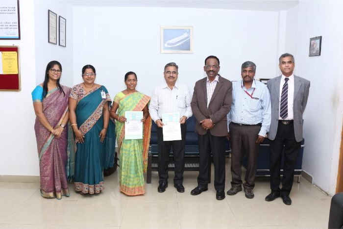 AMET Deemed to be University has signed MoU with Tamil Nadu J. Jayalalithaa Fisheries University, Nagapatinam at Vice-Chancellor's Office, on 13 Feb 2019