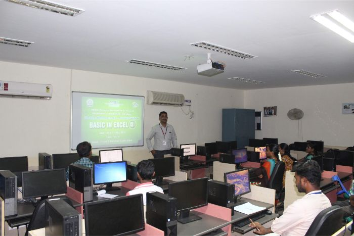 Human Resource Development Centre and Department of Information Technology organized two days workshop for Non-teaching Faculty on Basic in Excel in IT Lab II, on 20 & 21 May 2019