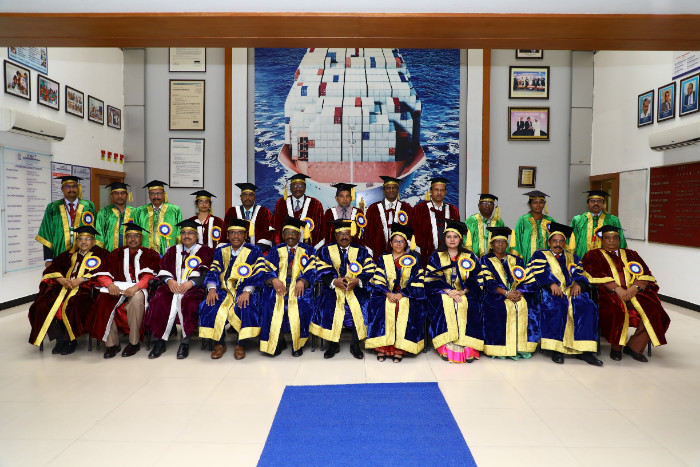 8th Convocation held at AMET Campus, on 20 Sep 2018
