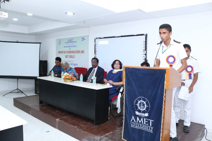 Dept. of English organized One Day National Seminar on Imparting Communication and 