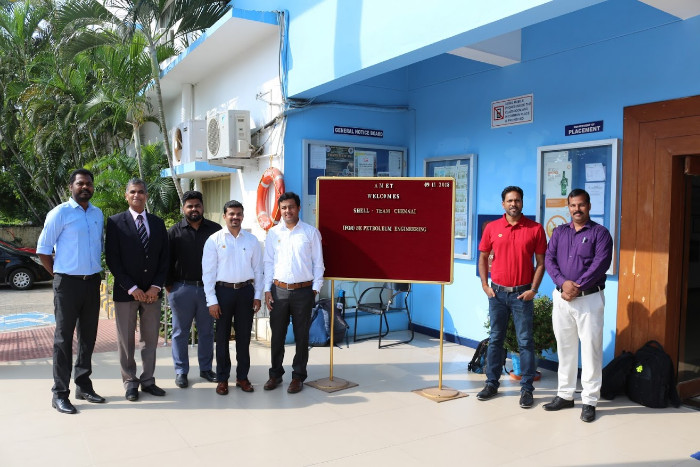 Team from M/s.Shell, Chennai visited to recruit our students from Petroleum Engineering, on 09 Nov 2018