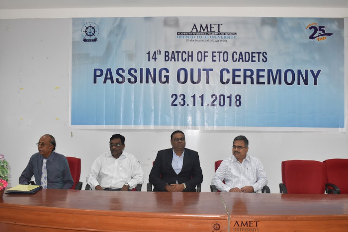 14th Batch of ETO cadets Passing Out Ceremony held on 23 Nov 2018