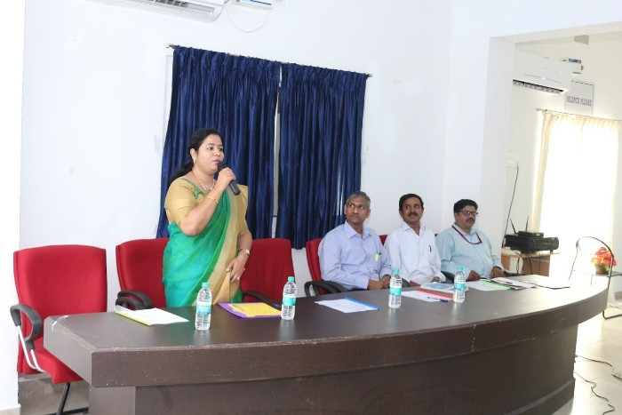 AMET Business School organised an Entrepreneurship Awareness Camp - 2019 held at Library Seminar Hall on 10 Jan 2019