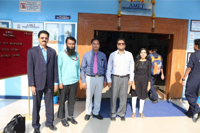 Department of Naval Architecture and Offshore Engineering organized Inaugural of AMET-MTS Student Chapter in association with Marine Technology Society at Shri Janakiraman Auditorium, on 13 Feb 2019