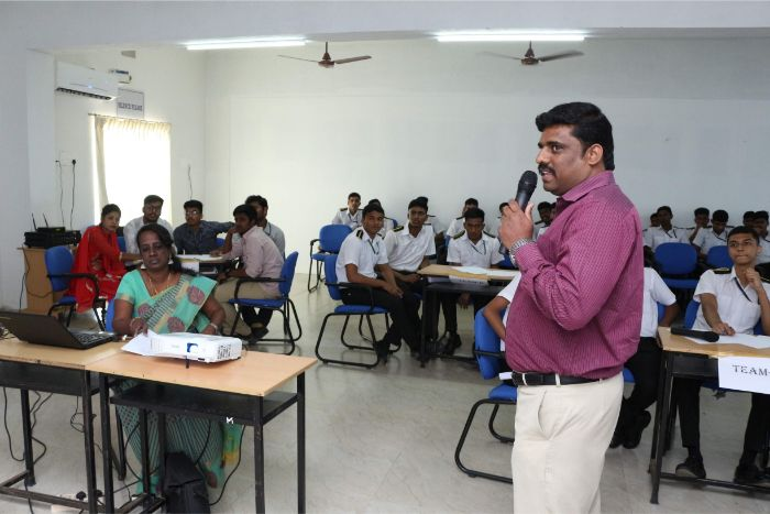 Department of Mathematics & Ramanujan Math Club organized Mathematics Quiz Program on remembrance of 131st Birth Anniversary of Srinivasa Ramanujan at VBS Library Hall, on 14 Feb 2019