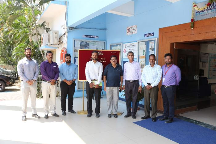 Mr. Angelino Henry, Tech Sales Engineer and Mr. Ramesh, HR M/s.Goodrich Gasket Pvt. Ltd.visited to recruit our Petroleum Engineering students on 05 Mar 2019