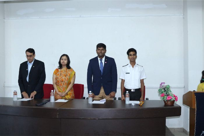 Orientation programme organized by Rotaract club of AMET at Library Seminar Hall, on 14 Mar 2019