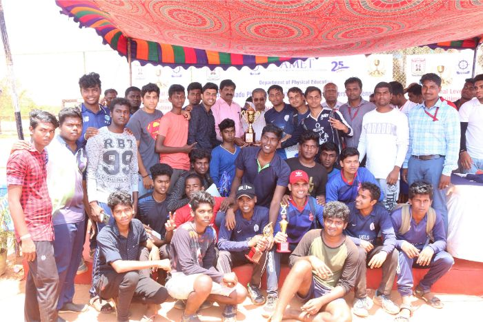Department of Physical Education, AMET in association with Tamil Nadu Physical Education and Sports University, Chennai organized 5th National Level Inter-Maritime Institutions Tournament - 2019, on 21 - 23 Mar 2019