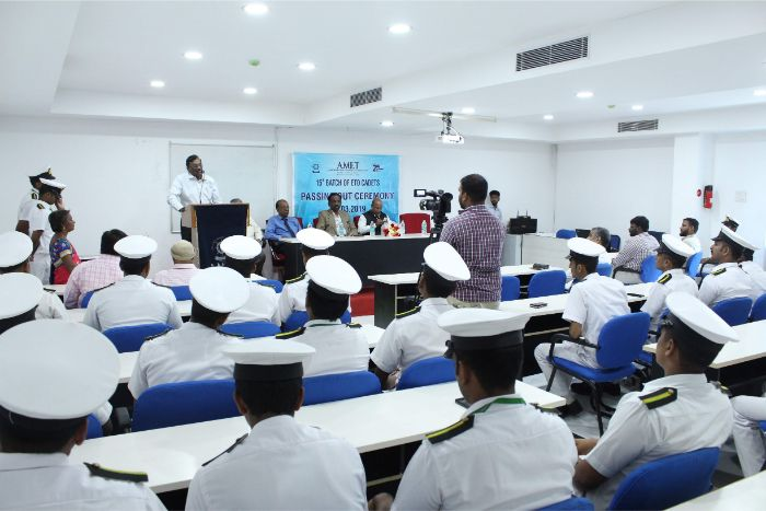 15th Batch of ETO Cadets Passing Out Ceremony held at DNV Hall II, on 28 Mar 2019