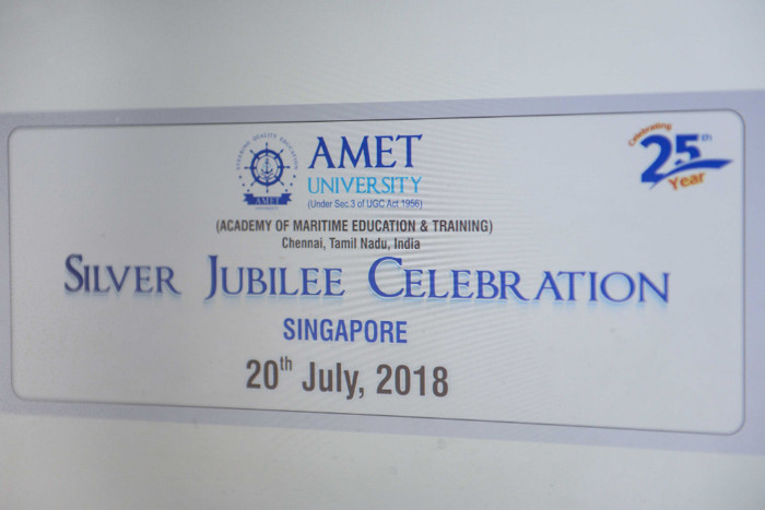 Silver Jubilee Celebration with Alumni in Singapore, on 20 Jul 2018