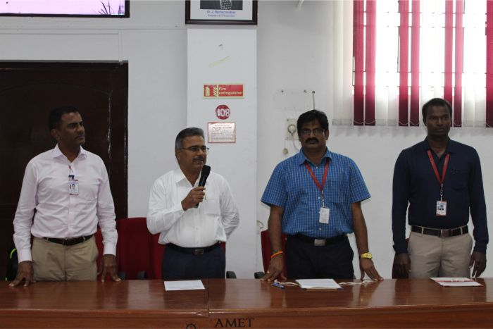 Department of Nautical Science organized a Cultural Knot Programme at Shri Janakiraman Auditorium, on 30 Mar 2019