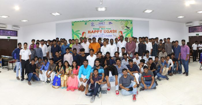 Telugu New Year celebrated at Shri Janakiraman Auditorium, on 06 Apr 2019