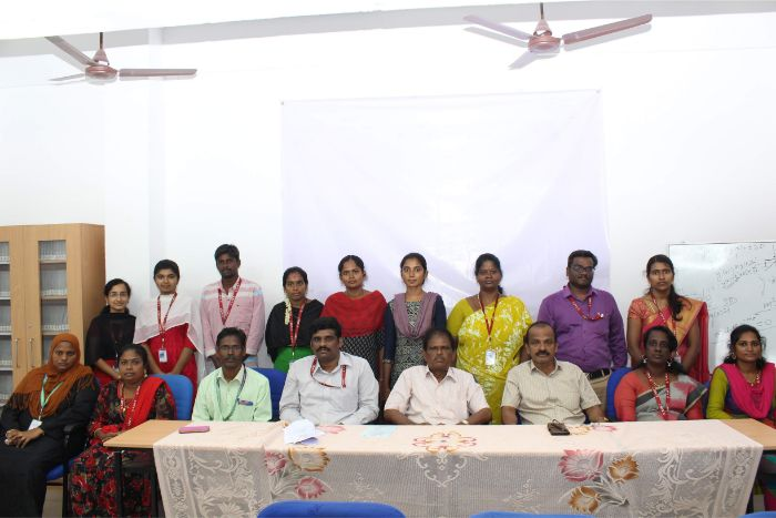 Department of Mathematics organized Facutly Development Programme on Recent Development in Applied Mathematics held at Library AV hall from 05 - 07 Nov 2019
