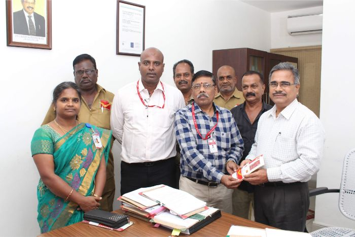 AMET Staff Welfare Programme an awareness on Savings Schemes in Post Office in collaboration with India Post, Anna Road HPO, Chennai held at Mezzanine Floor from 05 - 07 Nov 2019
