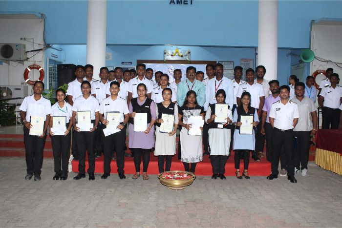 Awards distributed to the students in the categories of Leadership Quality and Volunteer Service, Best Discipline and Proper Room Cleanliness and Punctual in the hostel on 06 Nov 2019