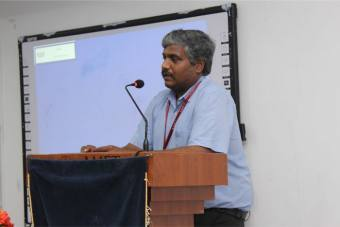 Internal Quality Assurance Cell (IQAC) organized a workshop on web based resources for research held at DNV Hall II, on 27 Nov 2019.<br> Special address delivered by the resource person Mr. A. Lakshmikanth, Manager - South, (Andhra Pradesh, Telangana, Tamil Nadu, Pondicherry), Pro Quest LLC, Bengaluru.