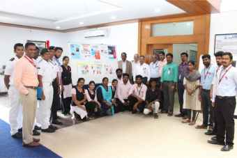 "Department of Marine Biotechnology and National Cadets Corps (NCC) I (TN) Naval Unit organized World AIDS Day in the theme of ""Ending the HIV / AIDS Epidemic: Community by Community"", on 01 Dec 2019"