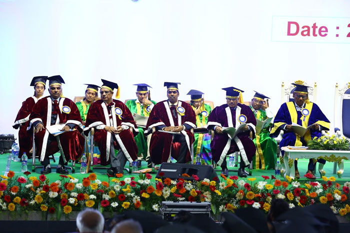 9th Convocation of AMET Deemed to be University held at Kamarajar Arangam, Chennai held on 29 Aug 2019