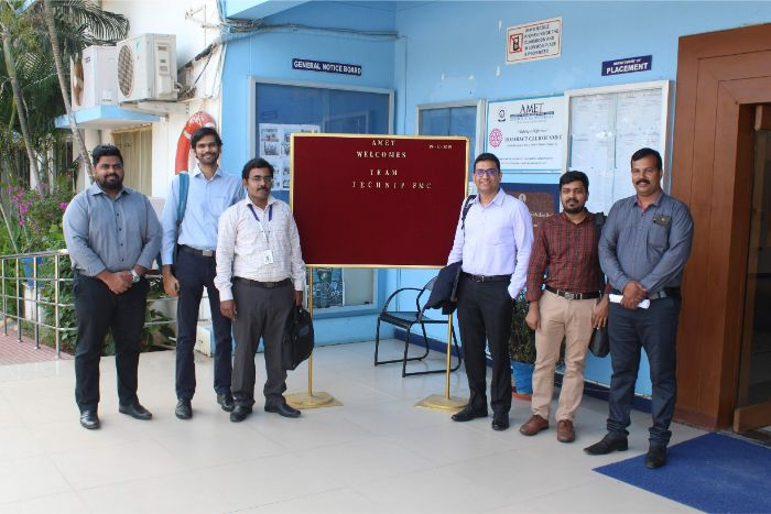 M/s. Technip FMC company visited to recruit our DGS cadets, on 19 Dec 2019