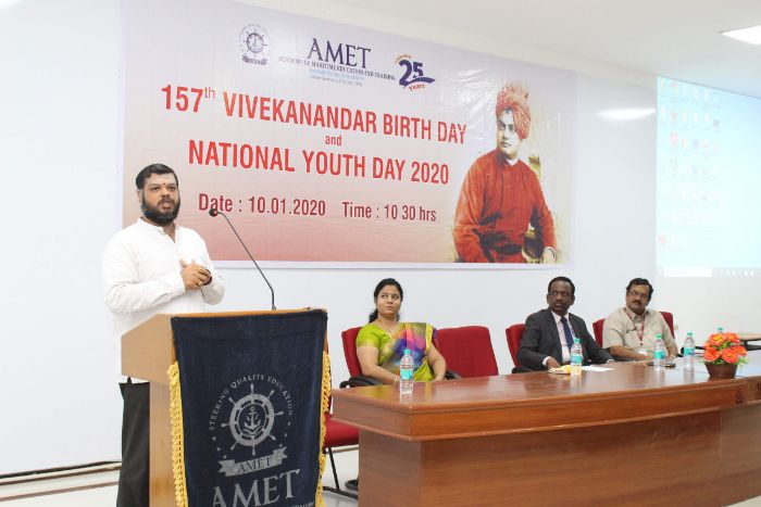 157<sup>th</sup> Vivekanandar Birthday and National Youth Day 2020, on 10 Jan 2020