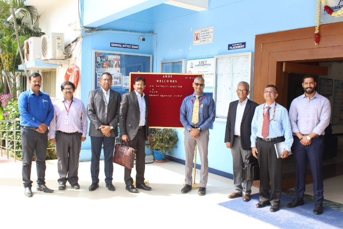 Mr.Sasikanth, Director & Team, Sharaf Shipping, Dubai visited our campus