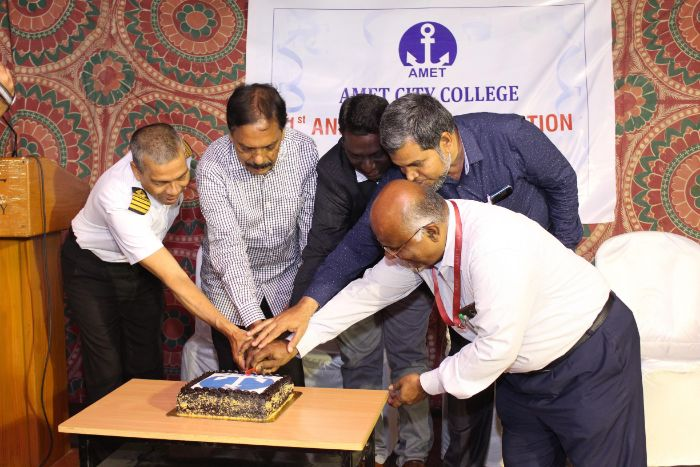AMET City College celebrated 1st Annual Day, on 08 Feb 2020