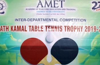 Inter-Departmental Competition, Sharath Kamal Table Tennis Trophy 2020, on 12 Feb 2020
