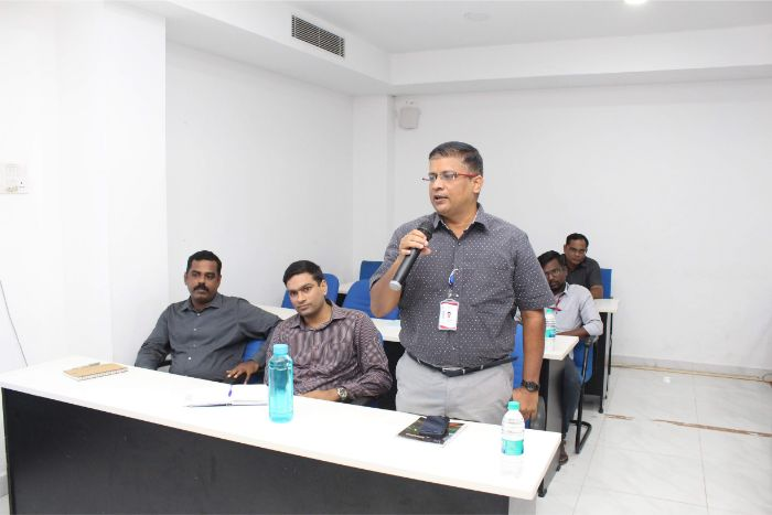 AMET Institution Innovation Council Meeting held at DNV Hall II, on 30 Sep 2019