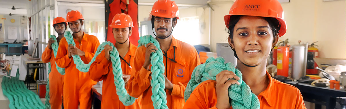 AMET University: Top Marine Colleges in India   What to